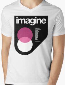 imagine Mens V-Neck T-Shirt