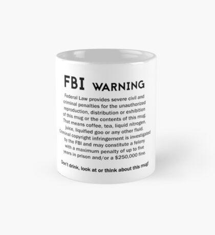 FBI Warning! Mug