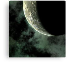 Planet Closeup Canvas Print