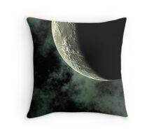 Planet Closeup Throw Pillow