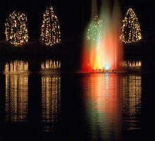 christmas fountain by Alexandr Grichenko