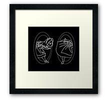 Portal Alice  Framed Print