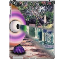Saturated Egg Man with a Negative View iPad Case/Skin