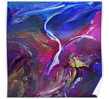 """Flyaway"" original abstract artwork Poster"