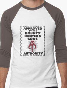 Bounty Hunters Code Authority Men's Baseball ¾ T-Shirt