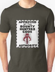 Bounty Hunters Code Authority Unisex T-Shirt