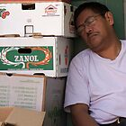 hard days work  by Andrew  Landau