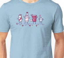 Solo drink with friends Unisex T-Shirt