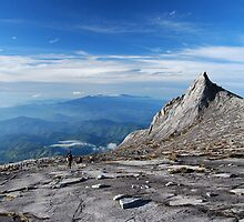 Mt. Kinabalu South Peak by Michael Little