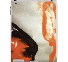 good & bad sides....so close ha...her breath smelt of hate! iPad Case/Skin