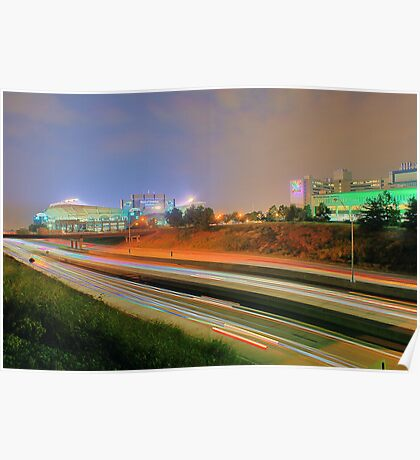 Carolina Panthers Football Stadium Poster