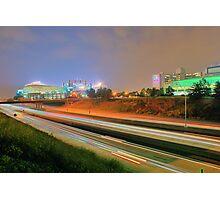 Carolina Panthers Football Stadium Photographic Print