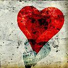 Abstract Heart 3 by Edward Fielding