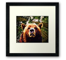 Bearing Down by M.A Framed Print