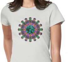 Bonbon mandala Womens Fitted T-Shirt