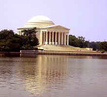Thomas Jefferson Memorial by Laurie Puglia