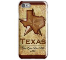 Texas Independence - The Lone Star State iPhone Case/Skin
