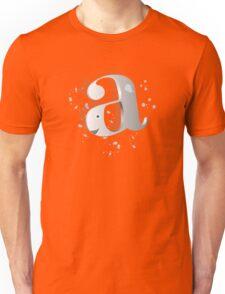 'A' whale Unisex T-Shirt