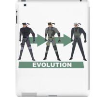 The Evolution Of The Snake iPad Case/Skin