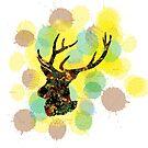 Deer, I'm Colourful by jmenszta