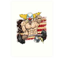 Cross fitness - Puker - USA Art Print