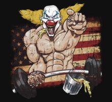 Cross fitness - Puker - USA by fragworks