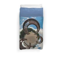 Lifford Coins, County Donegal Duvet Cover