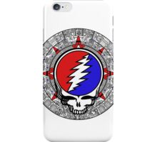 Mayan Calendar Steal Your Face - Basic Color iPhone Case/Skin