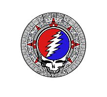 Mayan Calendar Steal Your Face - Basic Color Photographic Print