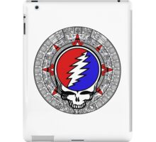 Mayan Calendar Steal Your Face - Basic Color iPad Case/Skin