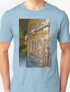 Entering the Church of St Pierre in Avignon, France T-Shirt