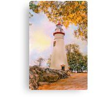 Marble Head Lighthouse Canvas Print