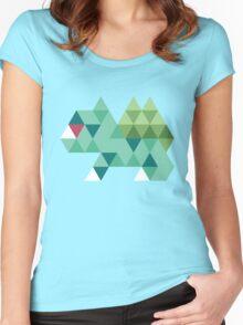 Tri-Bulbasaur Women's Fitted Scoop T-Shirt