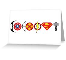 Comic - Coexist Greeting Card