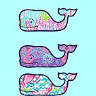 Lilly Pulitzer Vineyard Vines Whale by NatalieGraceW
