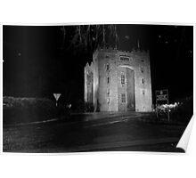 Bunratty Castl;e at night Poster