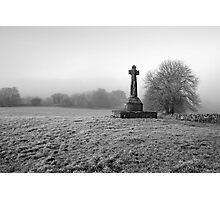 Dysert O'Dea Celtic Cross Photographic Print