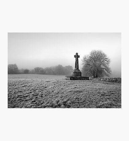 Dysert O'Dea Celtic Cross Photographic Print
