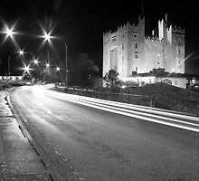 Bunratty Castle at night by John Quinn