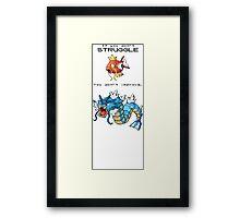 Pokemon Magikarp Framed Print
