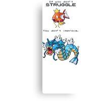 Pokemon Magikarp Canvas Print