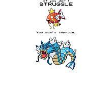 Pokemon Magikarp Photographic Print