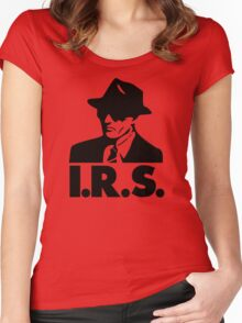 I.R.S. Records Women's Fitted Scoop T-Shirt