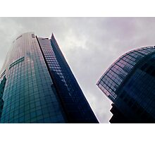 Big City Skyline........the pastel set  # five Photographic Print