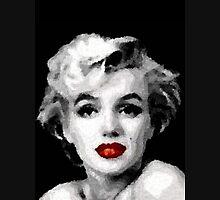 Marilyn Mens V-Neck T-Shirt