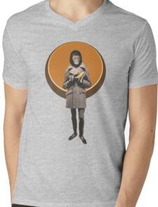Planet Of The Apes Mod Style Mens V-Neck T-Shirt