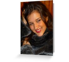 Happy Fur Greeting Card