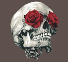 Rose Eye Skull Kids Clothes