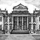 192 - SEATON DELAVAL HALL - DAVE EDWARDS - INK - 1992 by BLYTHART
