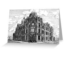 180 - BLYTH POLICE STATION - DAVE EDWARDS - INK - 1991 Greeting Card